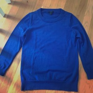 Classic J Crew Crewneck Wool Sweater